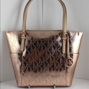 Authentic MK Purse Rose Gold